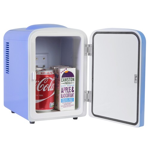 Iceq 4 Litre Mini Fridge Blue
